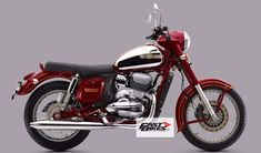 Behold the Jawa. It pays tribute to the very first Jawa and still resembles the type 353 Vintage Motorcycles, Cars And Motorcycles, Enfield Motorcycle, Bmw Boxer, Motor Scooters, Old Bikes, Classic Bikes, Sidecar, Motorbikes