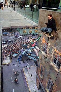 amazing dimensional art