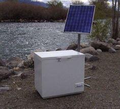 Sustentabilidade Energética Solar Termosolar e Eólica : Freezers com alimentação de Energia Solar 12W 24W ...