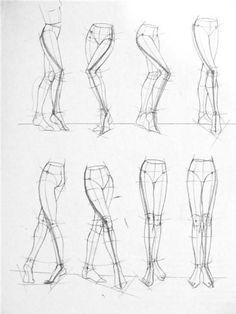 Resultado de imagen para dibujos de piernas