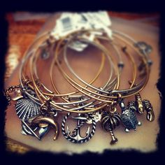 Seaside Alex & Ani Bracelets