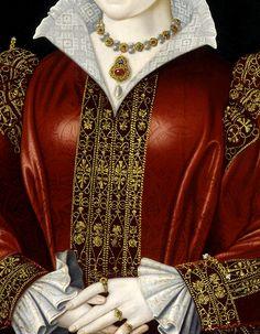 Katherine Parr (Détail) Artiste inconnu 1545