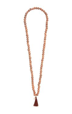 Terracotta Tassel Necklace – Fait La Force