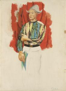 Harlequin - Pablo Picasso - The Athenaeum