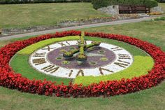 Photos of The Floral Clock, Greenhill Gardens, Weymouth ...