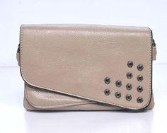 CA$24.95 - Studded Bag Beige - Love this everyday handbag!