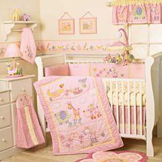 Un cuarto rosa para un bebe ...