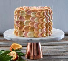 Orange and yoghurt petal cake. #cakes