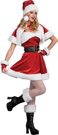 eddca9d4b24 Women s Christmas Costume  Santa s Sexy Helper-MediumSleeveless dress