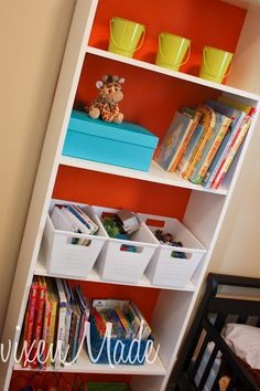 vixenMade: Ikea Bookshelf Makeover