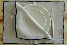 table linens from Los Angeles–based Commune Design