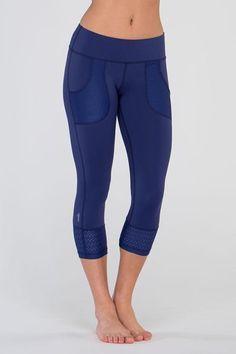 Love the mesh pockets on these! Keep Going Capri - $78