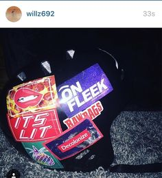 Shoutout to @willz692 and his awesome Sticker Slapped helmet! Looks sick and glad to have ya on the team!  #sponsor #friend #like #love #spamforspam #sticker #stickers #stickerbomb #stickerslap #follow #stickerslaps #instacool #instagood #instadaily #inspiration #scooter #England #uk #colorful #rad