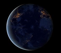 La NASA dévoile des clichés de la Terre illuminée dans la nuit