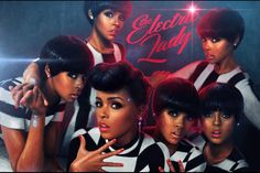 Janelle Monae, nice album,she took her time with it clearly and it shows,very creative girl ,a must have