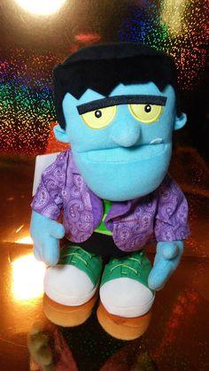 Hallmark 2010 Dancin' Frankenstein Monster Mash Halloween Musical Motion Plush #hallmark #dancinfrankenstein #monstermash #frankenstein #halloween