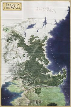 Beyond the Wall is a generic term referring to the northernmost area of Westeros, that cover the lands north of the Wall. It is populated by the free folk.