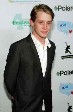 Macaulay Culkin.. everyone has a right to their odd Crushes.. I don't know what it is, I think he is ADORABLE
