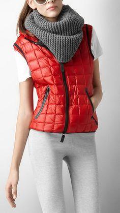... Burberry Puffa Vest