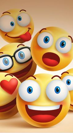 Smiley faces group of vector emoticon characters with funny facial expressions. … Smiley faces group of vector emoticon characters with funny facial expressions. Smiley Emoji, Smiley T Shirt, Emoji Love, Cute Emoji, Iphone 3, Emoji Wallpaper, Cellphone Wallpaper, Smiley Face Images, Smiley Faces