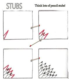 My Tangle Patterns-Stubs (was Nibs) | by molossus, who says Life Imitates Doodles