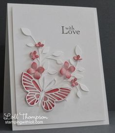 Hi everyone. Today I am CASEing my good friend (and very talented card maker), Peggy. Peggy has an elegant and sophisticated style an...