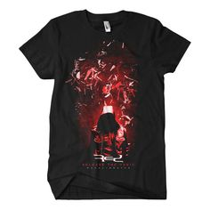 ONLINE EXLUSIVE Red Recalibrated T-Shirt – Red Music