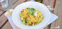Zeleninové rizoto se šafránem