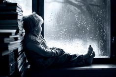 Waiting for the rain to end... Photo by Elena Shumilova -