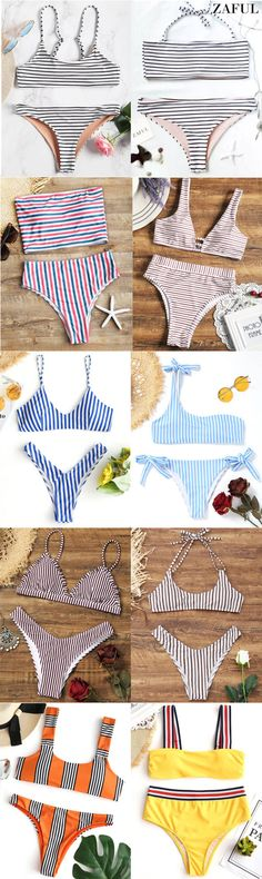 Up to 80% OFF! Cami Striped Bralette Bikini Set. #Zaful #Swimwear #Bikinis zaful,zaful outfits,zaful dresses,spring outfits,summer dresses,easter,super bowl,st patrick's day,cute,casual,fashion,style,bathing suit,swimsuits,one pieces,swimwear,bikini set,bikini,one piece swimwear,beach outfit,swimwear cover ups,high waisted swimsuit,tankini,high cut one piece swimsuit,high waisted swimsuit,swimwear modest,swimsuit modest,cover ups @zaful Extra 10% OFF Code:ZF2017