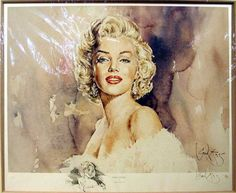 Marilyn Monroe - Art by Gordon King