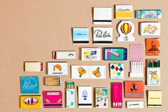 decorating with match boxes