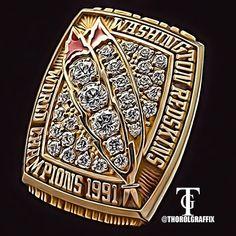 Washington Redskins 1991 Super Bowl ring 2013 coming soon