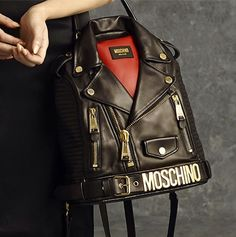 Covet List: Jeremy Scott's Motorcycle Jacket Bag for Moschino