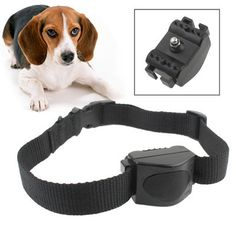 Anti Bark Dog Collar Waterproof Auto Vibration Barking Stopper (A101) Pet Accessories, Online Shopping Stores, Pet Supplies, Africa, Belt, Dogs, Black, China, Animals