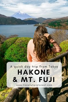 When in Japan you can't miss seeing Mt. Fuji. If you're staying in Tokyo, Hakone is a short day trip that is totally worth it! Read on to find out how to get to Hakone and see Mt. Fuji from Tokyo.