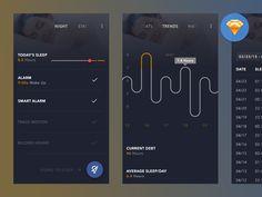 http://getcraftwork.com/sleepbot-ios-ui/ iOS version of the Sleepbot UI.