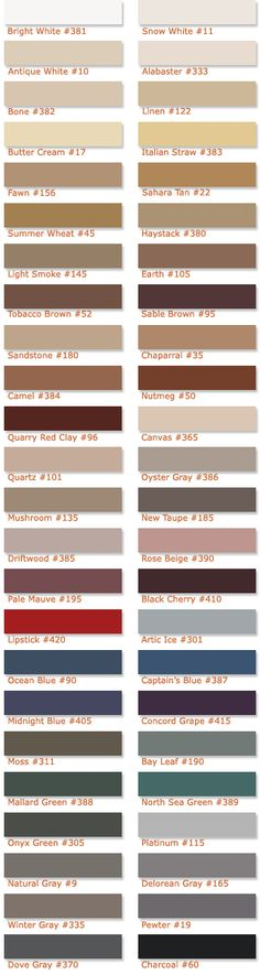 Polyblend Grout Renew Color Chart Bathroom Remodels