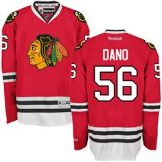 Get this Chicago Blackhawks Marko Dano Red Premier Jersey w/ Authentic Lettering at ChicagoTeamStore.com