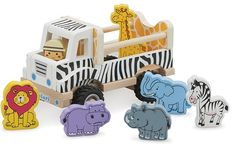 New Classic Toys - Safari Truck with play figures