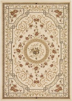 Versailles Ivory Area Rug