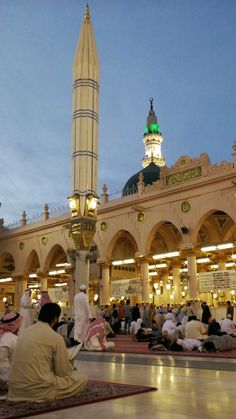 Al Masjid An Nabawi, Mecca Masjid, Masjid Al Haram, Islamic Images, Islamic Pictures, Islamic Architecture, Art And Architecture, Islamic Sites, Medina Mosque