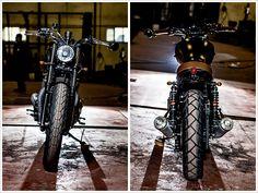 Triumph Bonneville SE -Maccomotors - Pipeburn - Purveyors of Classic Motorcycles, Cafe Racers & Custom motorbikes