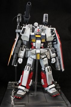 This is an Amazing Perfect Gundam! Latest Custom Work by @ key Photoreview [WIP too] http://www.gunjap.net/site/?p=214357