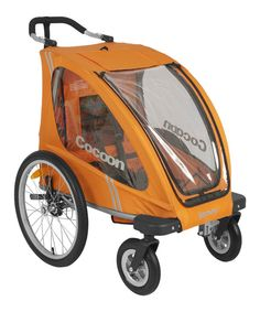 Look at this Orangie Cocoon Enclosed Single Stroller on #zulily today!