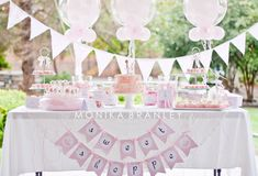 IF and WHEN Annabelle is a dancer -- we will be having a ballerina party. SO cute!