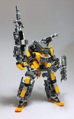 LEGO Robot Mk10-16 http://www.flickr.com/photos/142497481@N02/31524105424/