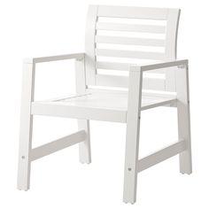 ÄPPLARÖ Armchair - white - IKEA