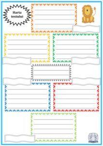 Textul nonliterar. Harta textului. Fișă de lucru și text-suport pentru extragerea informațiilor de detaliu dintr-un text citit Alphabet Activities, School Lessons, Notebook, Bullet Journal, Reading, Children, Design, Problem Solving, Rome