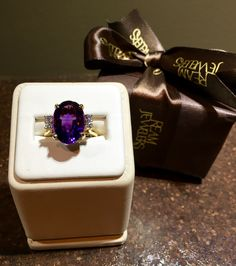 www.reamjewelers.com  February Birthstone: Amethyst.    This gorgeous birthstone is a meditative and calming stone that is known to restore a sense of calming, balance, patience and peace.